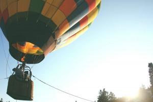 hot air balloon 1000